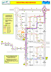 Doha Industrial Bus Route Map