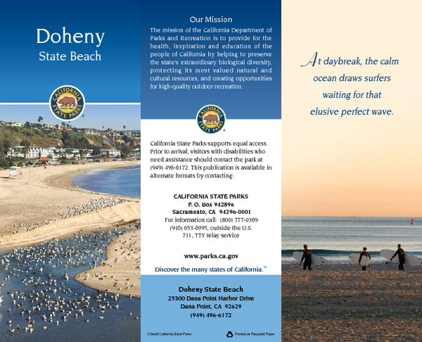 Doheny State Beach Map