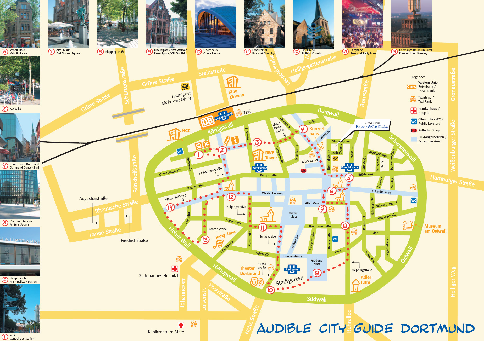 Dortmund Tourist Map Dortmund Germany mappery – Tourist Map of Berlin