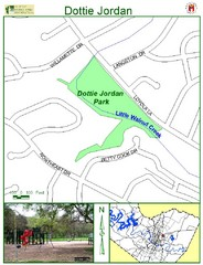 Dottie Jordan Park Map