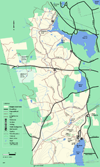 Douglas State Forest trail map