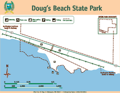 Dougs Beach State Park Map