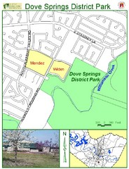 Dove Springs District Park Map