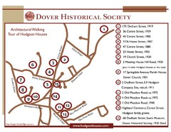 Dover Architectural Walking Map