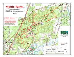 Downfall/Martin Burns WMA Map