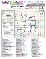 Downtown Art-Walk Map