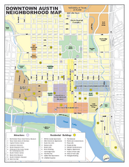 Downtown Austin District Map