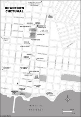 Downtown Chetumal Map