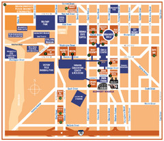Downtown Indianapolis Map