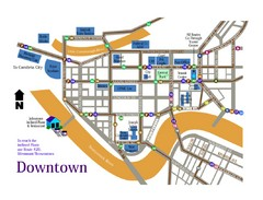 Downtown Johnstown Map