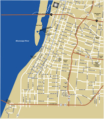 Downtown Memphis Map