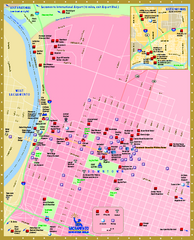 Downtown Sacramento, California Map