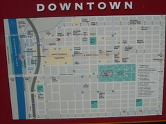 Downtown Sacramento City Map