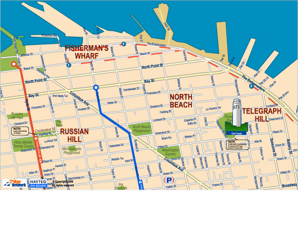 San Francisco maps mappery – San Francisco Tourist Map Pdf