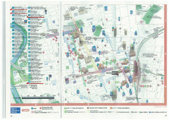 Downtown Sendai Hotel Map