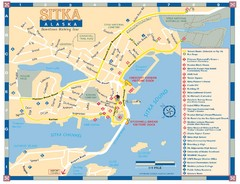 Downtown Sitka Map