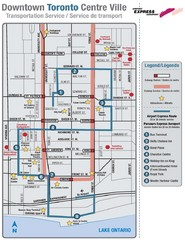 Downtown Toronto Tourist Map