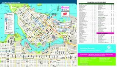 Downtown Vancouver Metro Map