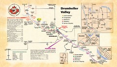 Drumheller Valley Tourist  Map