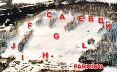 Dry Hill Ski Area Ski Trail Map