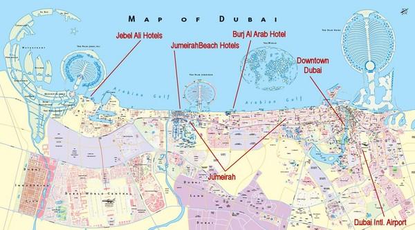 waipabana: The World Map Dubai