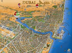 Dubai Tourist Map