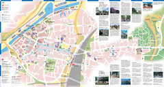 Duisburg Tourist Map
