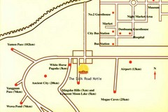 Dunhuang City Tourist Map
