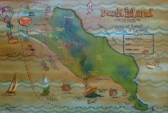 Dunk Island Tourist Map