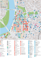 Dusseldorf Tourist Map