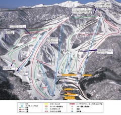 Dynaland Ski Trail Map