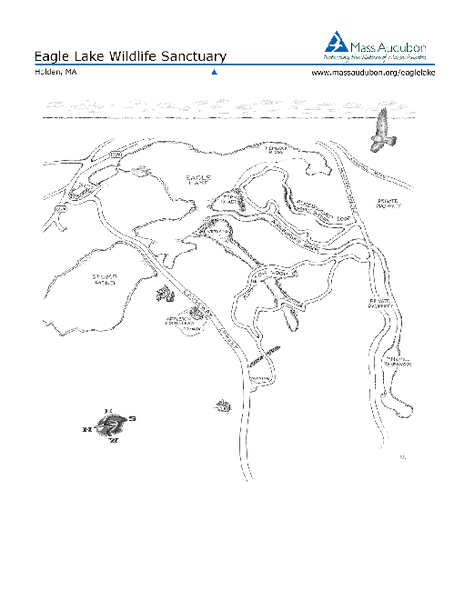 Eagle Lake Conservation Area Map