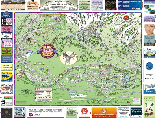 Eagle River Valley Resort Maps Map   Avon CO • mappery