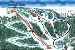Eagle Rock Ski Trail Map