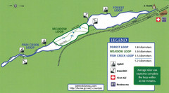 Eaglecrest Ski Area Nordic Ski Trail Map