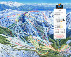 Eaglecrest Ski Area Ski Trail Map