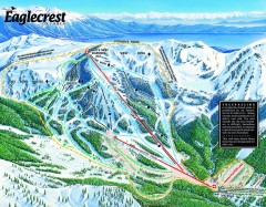 Eaglecrest Ski Trail Map