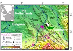 Earthquake in Lower Rhine Map