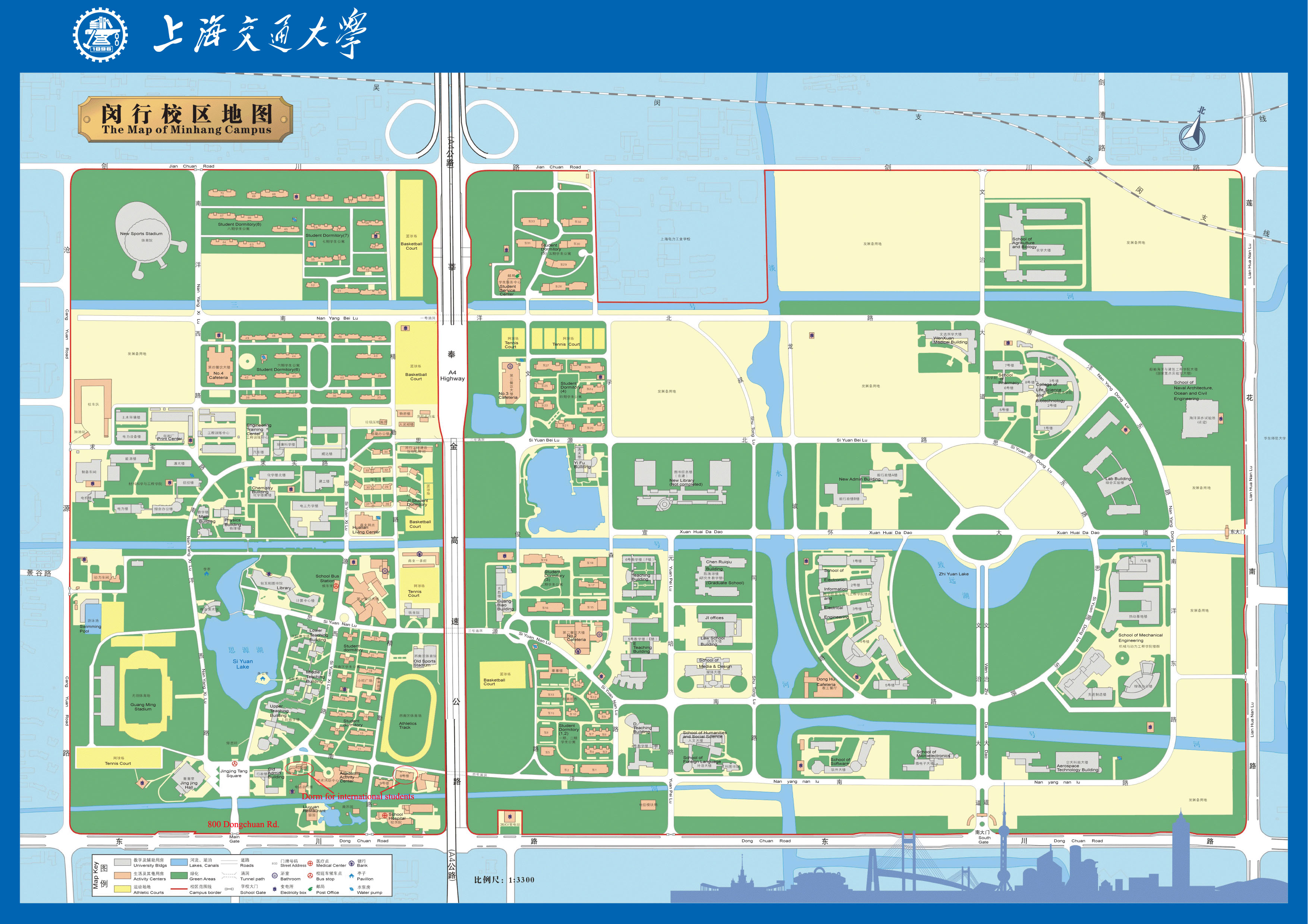 East China Normal University In Shanghai Map