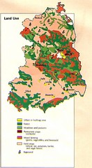 East Germany Land Use Map