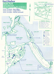 East Harbor State Park Map