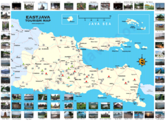 'East Java Tourism Map' from the web at 'http://www.mappery.com/maps/East-Java-Tourism-Map.thumb.png'
