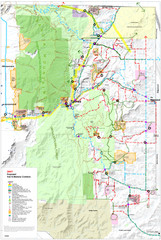 East Mountain Trail and Bikeways Master Plan  Map