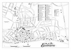 Eastbourne England Tourist Map