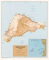 Easter Island Tourist Map