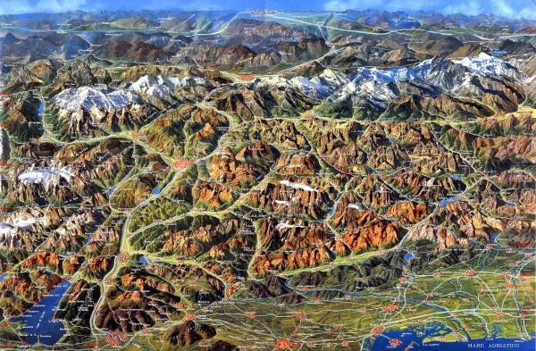 eastern alps