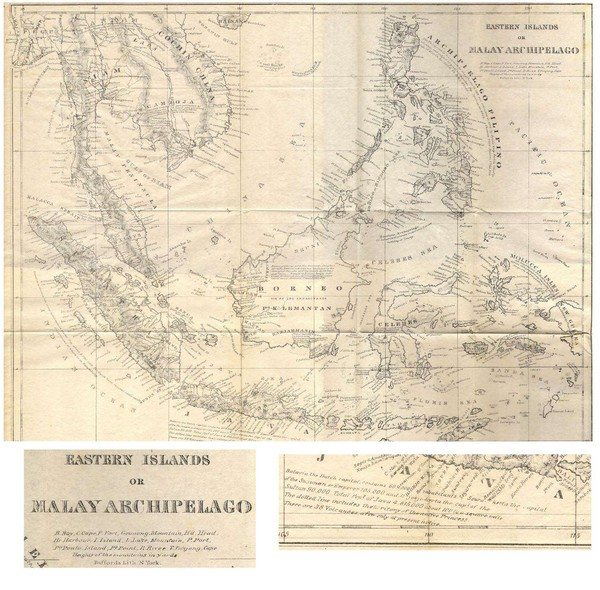 Eastern Islands Map