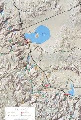 Eastern Sierra Trailhead Map - Lee Vining and...