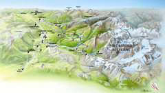 Ecrins National Park Map