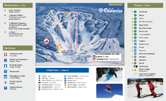 Edelweiss Valley Ski Trail Map